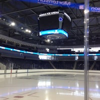 Photo taken at Pegula Ice Arena by Leah M. on 9/20/2013