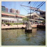 Photo taken at Water Taxi Landing 2 - Harborplace by Serg on 5/26/2013