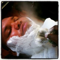 Photo taken at Dapper & Company Mens Grooming Lounge by Daryl R. on 10/30/2012
