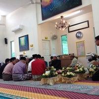 Photo taken at Surau Ar Raudhah Sierra Ukay by Siti Nur F. on 1/31/2015