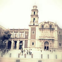 Photo taken at Plaza de Santo Domingo by Nicolas B. on 3/26/2013