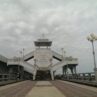 Photo taken at Sarasin Bridge by Mighty B. on 8/15/2013