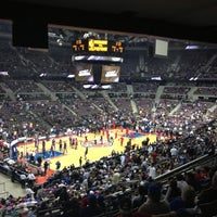 Photo taken at The Palace of Auburn Hills by ❤️ Whitney H. on 10/30/2013