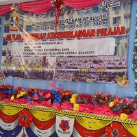 Photo taken at SK Pekan Beaufort by Rossa R. on 11/8/2012