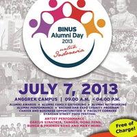 Photo taken at BINUS University by BINUS U. on 6/8/2013