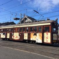 Photo taken at 上町線 北畠駅 by Tomo🍋 on 1/3/2015