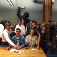 Photo taken at TechCrunch HQ by Sarah B. on 7/2/2015