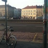 Photo taken at Hradčanská (tram) by Alexandra S. H. on 3/5/2013