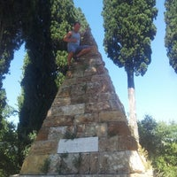 Photo taken at Monumento ai Caduti Della Battaglia Di Montaperti by ☆Stieven™☆ K. on 8/2/2013