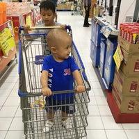 Photo taken at Hypermart Mandau City Mall by Echa on 12/27/2017