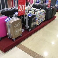 Photo taken at Hypermart Mandau City Mall by Echa on 1/7/2018