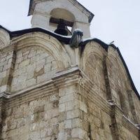 Photo taken at Храм св. мч. Трифона в Напрудном by Andrey K. on 2/8/2015