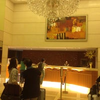 Photo taken at The Wharney Guang Dong Hotel Hong Kong by Tsutomu Y. on 9/20/2013