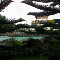 Photo taken at Sunshine Bay, Taman Wisata Matahari by Martha Y. on 4/6/2013