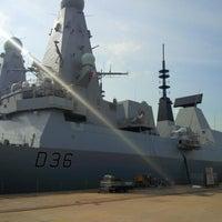 Photo taken at HM Naval Base by R B. on 6/26/2013