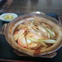 Photo taken at 岡田屋 by Tomoyuki N. on 3/21/2014