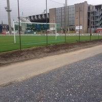 Photo taken at Club Brugge K.V. by Mattias B. on 9/22/2013