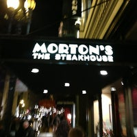 Photo taken at Morton's the Steakhouse by Kyle P. on 12/20/2012