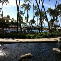 Photo taken at Hilton Hawaiian Village Waikiki Beach Resort by Jacqueline P. on 10/22/2012