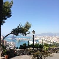 Photo taken at Hotel Parador de Málaga Gibralfaro by Dennis K. on 7/18/2013