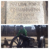 Photo taken at Highest Natural Point In Manhattan by Ted R. on 4/6/2015