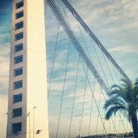 Photo taken at Bimilenario Bridge by Jose Angel G. on 9/26/2012