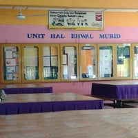 Photo taken at Sekolah menengah kebangsaan seri nibong by Azman A. on 1/1/2014