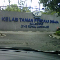 Photo taken at Royal Lake Club by Abdul Hadi A. on 12/20/2012