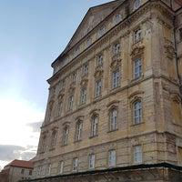 Photo taken at Nádvoří Louckého kláštera by Veronika B. on 5/27/2017