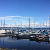 Photo taken at Leschi Park by Annamaria T. on 10/2/2016