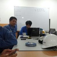 Photo taken at Headquarter PT. Krakatau Posco by Denny A. on 6/12/2013