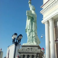 Photo taken at Statue of Liberty by Sammi W. on 9/20/2012