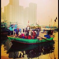 Photo taken at Pelabuhan Muara Angke by iCandy H. on 3/15/2014