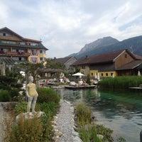 Das Foto wurde bei Hotel Engel Tyrol von Claudia T. am 7/20/2014 aufgenommen