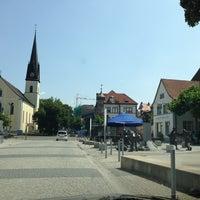 Photo taken at Singen (Hohentwiel) by Jeanette R. on 7/18/2013