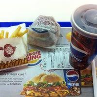 Photo taken at Burger King by Sergey Z. on 1/18/2013
