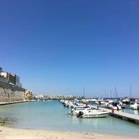 Photo taken at Porto di Otranto by Caroline-Yvonne S. on 5/31/2017