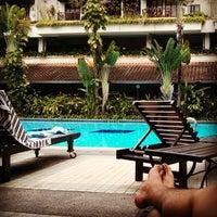 Photo taken at Sri Penaga Swimming Pool by Alvin B. on 8/24/2013