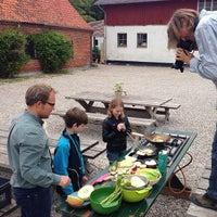 Photo taken at Aarstidernes Gårdbutik by Annette Hartvig L. on 6/3/2014