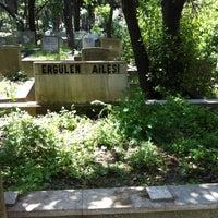 Photo taken at Feriköy İslam Mezarlığı by Selin E. on 5/12/2013