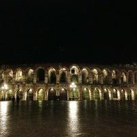 Photo taken at Arena di Verona by Grigoriy C. on 4/5/2013