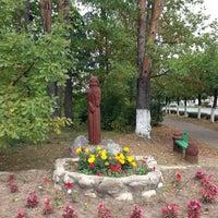 Photo taken at Пушкинские Горы by Sergey I. on 9/10/2013