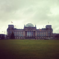 Photo taken at Reichstag by nicolas on 1/6/2013