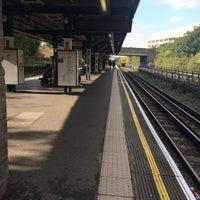 Photo taken at Hanger Lane London Underground Station by Marilia🐾 P. on 10/13/2016