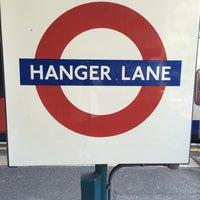Photo taken at Hanger Lane London Underground Station by Marilia🐾 P. on 5/27/2016