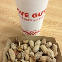 Photo taken at Five Guys by Brian P. on 10/11/2012