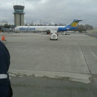 Photo taken at Bellingham International Airport (BLI) by Eric J. on 3/10/2013