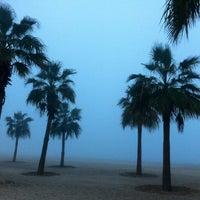 Photo taken at Marina Beach by Nenty T. on 1/25/2013
