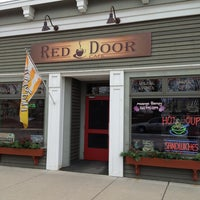 Photo taken at Red Door Cafe by CindyLou on 3/14/2013