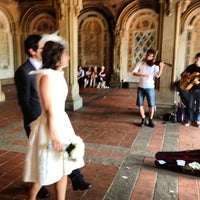 Photo taken at Bethesda Terrace by Alex C. on 6/11/2013
